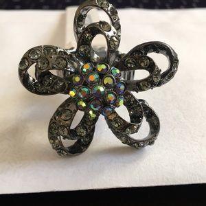 Guess Ring Hematite stones